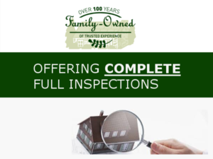 Offering complete full inspections - Ailing House Pest Management - Termites